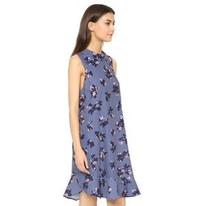 Rebecca Taylor sleeveless alyssum floral dress